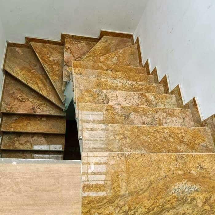 cầu thang đá granite